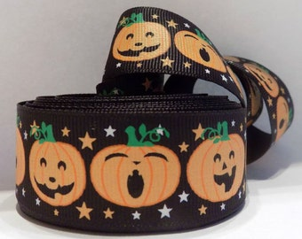 Halloween Ribbon - Pumpkin Ribbon - Crafting - Scrapbooking