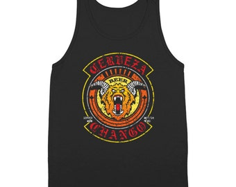 Cerveza Chango Beer Company Funny Humor Dusk Till Dawn Horror Movie Tank Top DT1461
