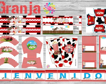 Farm Printable Party Set! !