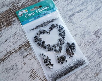 """Clear stamps """"heart"""""""
