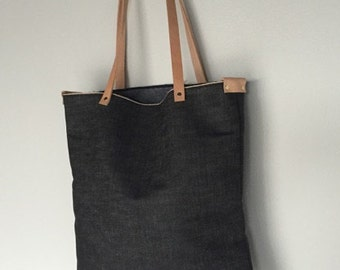 Indigo Selvedge Denim Tote