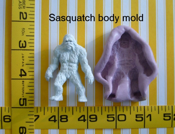 Sasquatch Yeti Big Foot Abominable Snowman 3d Silicone