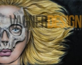 """A limited edition numbered print - """"HANNIBAL BARBIE"""""""