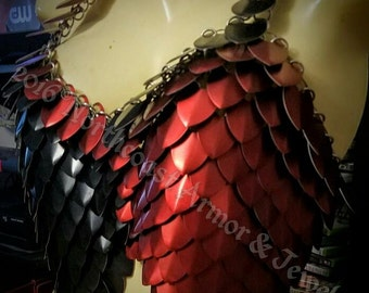 Custom Made  Chain and Scale Mail Harley Cosplay Armor