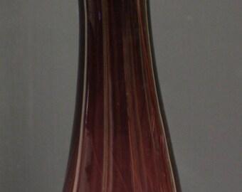 Hand Blown 15.5 Vintage Amethyst Decanter Blenko