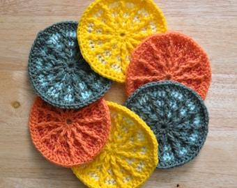 Citrus Slice Coasters