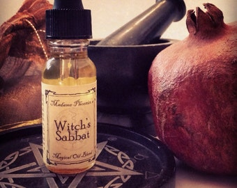 Witches Sabbat Sacred Anointing Oil Elixir