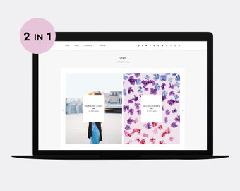 Responsive Blogger template | SIVY