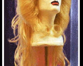 Hedwig and the Angry Inch punk rock star broadway blonde flip wig