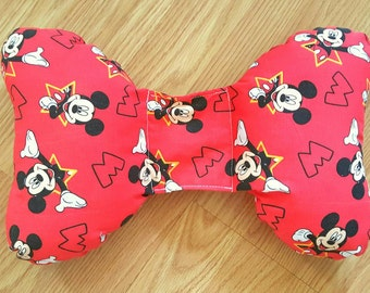 Mickey Mouse Infant Head Support - Torticollis - Positional Plagiocephaly - Elephant Ear Pillow - Car Seat Head Support - Baby Shower Gift