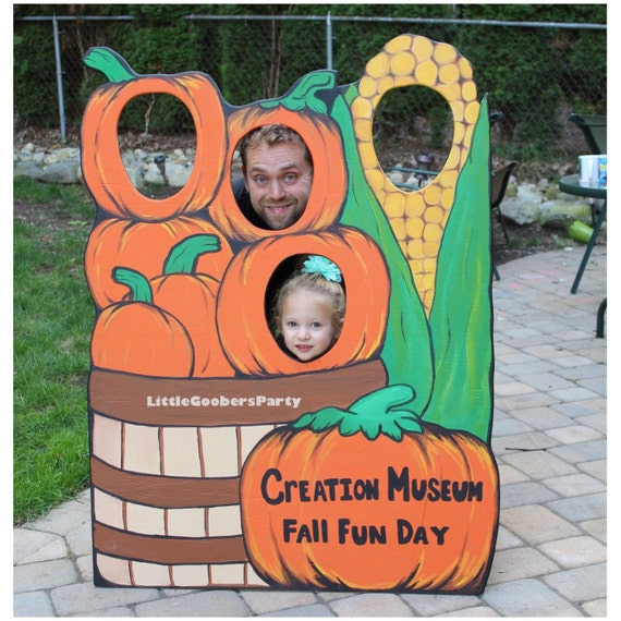 photo prop ideas for adults - Pumpkin Patch Wooden Op Prop by