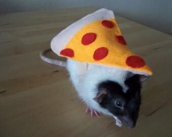 Pepperoni Slice Rat Costume