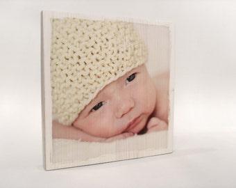 Own photo on wood, custom photo gift, gift husband, gift wife, gift boyfriend, gift girlfriend