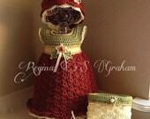 crochet christmas pattern, baby christmas dress, baby dress, crochet baby pattern, crochet pattern, baby girl pattern, crochet pattern