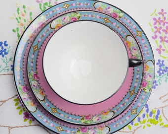 SALE SALE SALE truly stunning pink trios by carlisle ware, was 12.99 now 8.99