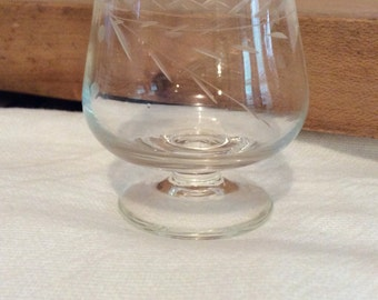 Vintage Miniature Brandy Snifter