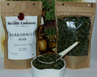 Asarabacca ( Asarum europaeum - herba ) 50g - Health Embassy - Organic