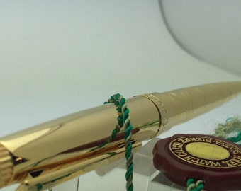 ROLEX Pen 23KT GOLD pl Extraordinary Piece Of Rolex History! Only Given To VIPS!