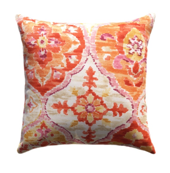 Outdoor Pillow Covers Any Size Decorative Pillows Orange