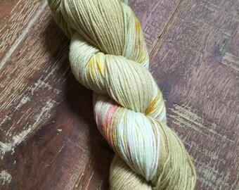 Hand Dyed Superwash Merino Nylon Sock Yarn, 100g/3.5oz, 'Amstel'