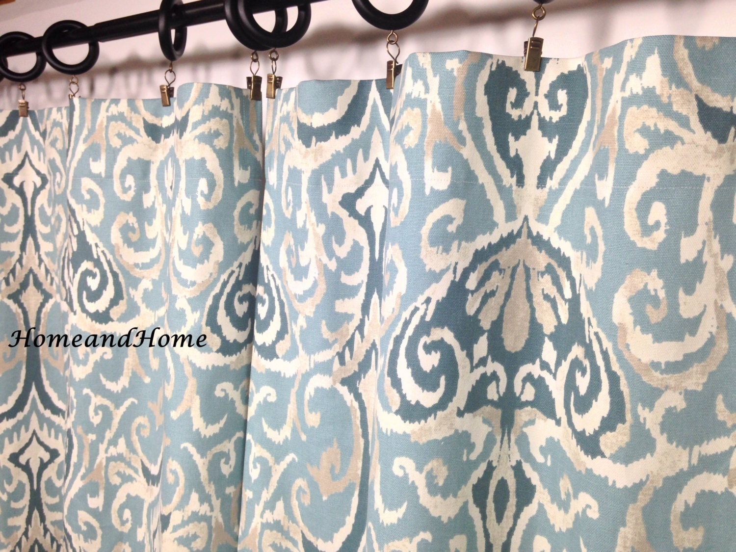 Designer Curtain Panels -  zoom