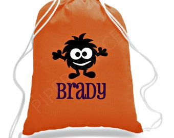 Halloween Bag, Halloween Basket, Trick or Treat Bag, Halloween Treat Bag, Kids Halloween