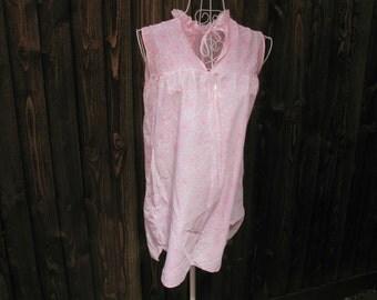 Baby Doll Nightdress, Baby Doll Nightie, Babydoll Nightie, Pink Baby Doll, Pink Babydoll, Mod Fashion, 1960s Fashion, Vintage Nightdress