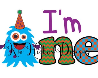 Birthday Svg, Boy Birthday, Svg Birthday Monster Svg Dxf Cutting Files  Monster Svg Birthday Svg