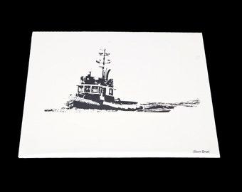 8x10 Tugboat Print