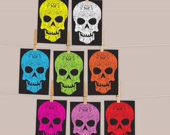 Skull Postcard PACK