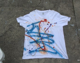 Hand Painted T-Shirt #3