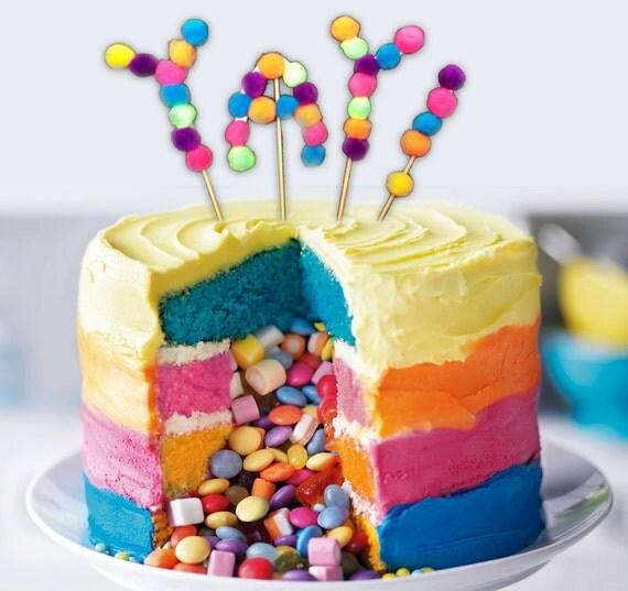 Items Similar To Cake Topper Birthday Cake Topper Baby