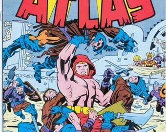 ATLAS 1st Issue Special #1. April 1975