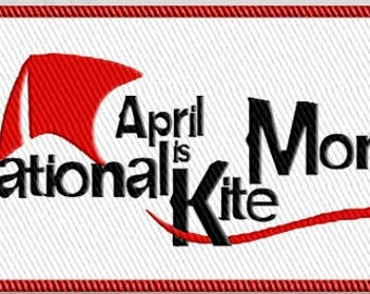 National Kite Month Patch