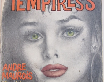 Vintage 1958 Pulp Fiction Paperback - Temptress by Andre Maurois