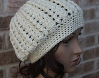 Crochet Cap Pattern, Crochet Beanie Pattern, Hat Pattern, Cap Pattern, Instant Download