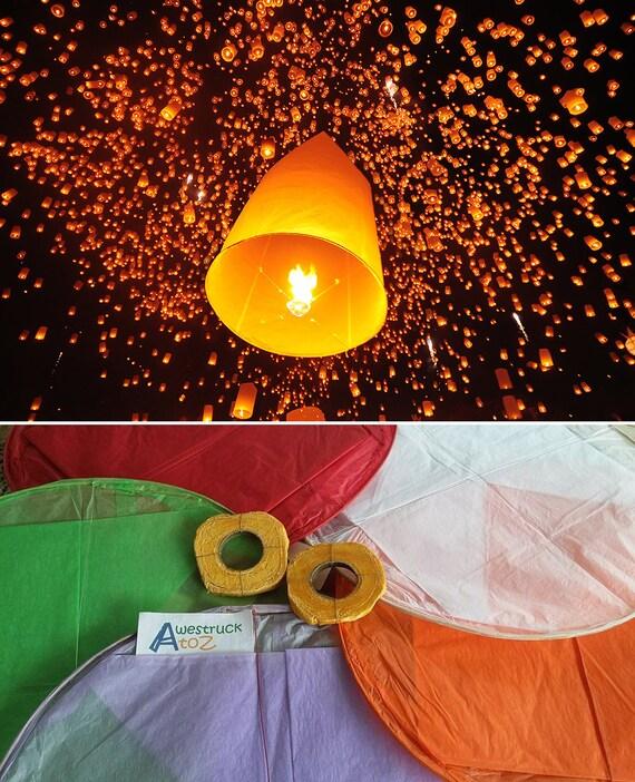 Hot Buy 2 Get 1 Free Thai Floating Lantern Sky By Awestruckatoz