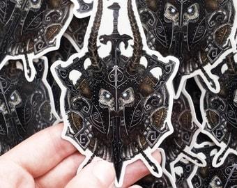 Draugr Vinyl Sticker | Limited Edition |Die-Cut, Glossy & Weatherproof | The Elder Scrolls V: Skyrim Inspired