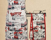 Bunty Comic - double oven glove