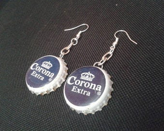 Corona Bottlecap Earrings