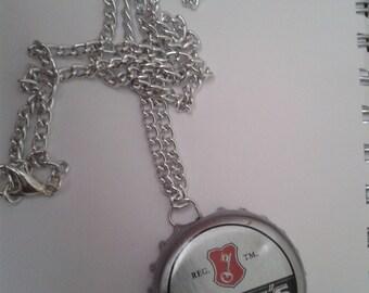 Becks Bottle Cap Necklace