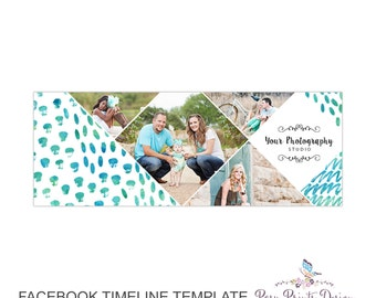 Facebook Timeline Cover Photoshop Template - FBT05