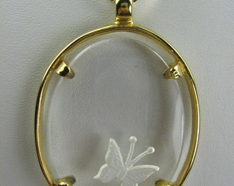 Napier Butterfly Necklace