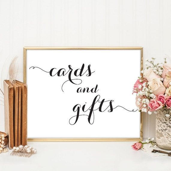 Wedding Gift Table Sign Template : and Gifts Sign, Wedding Sign, Wedding Printable, Wedding Gift Table ...