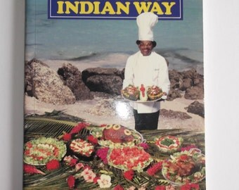 Vintage Cook Book - Cooking the West Indian Way by Dalton Babb - Mcmillan Caribbean