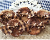 Grubby Cinnamon Buttons, Salt Dough Buttons, Bowl Fillers, Cinnamon Spice, Potpourri Add In, Rustic Farmhouse, Primitive Decor