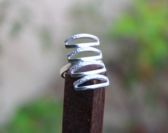 Statement Ring,Silver Ring,Handmade Ring,Unique Design,Everyday Ring,Elegant,Minimalist,Birthday Present,Modern Ring,Jewelry for her