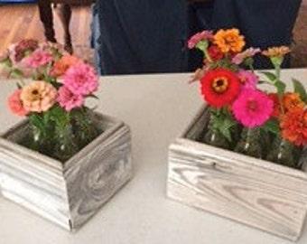 Primitive Flower boxes