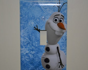 Frozen Olaf Switch Cover