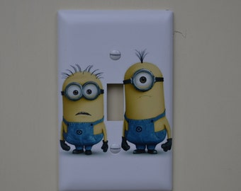 Minions Switch Cover